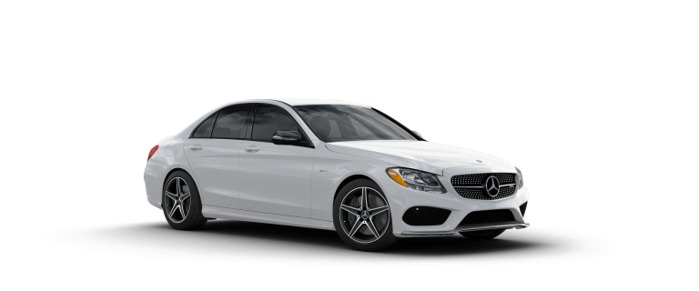 2017 c43 amg sedan mercedes benz for Mercedes benz polar white paint